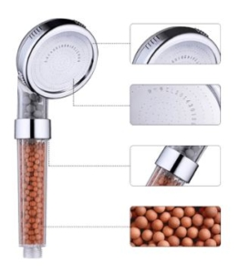 ionic spa shower